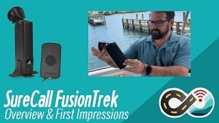 SureCall FusionTrek Vehicle Cellular Booster - Unboxing, Overview & First Impressions