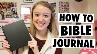 How to Start Bible Journaling + My First Entries!