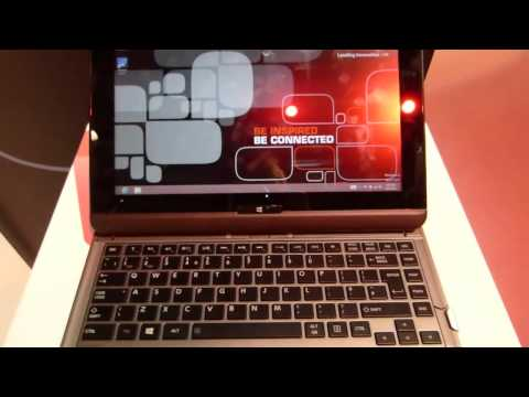 Toshiba Satellite U920t touch Ultrabook. Hands-on overview.
