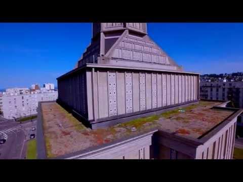 Le Havre : Perret voyage en drone...