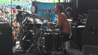 "Streetlight Manifesto ""We Will Fall Together""  Chris Thatcher Rockin The drum's"