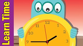 Tell the Time Song #4 | Learn to Tell Time for Kids | Fun Kids English
