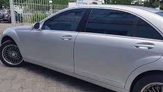 видео авто MERCEDES-BENZ S500 в кредит