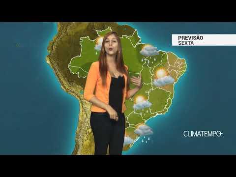 Chuva quase em todo Brasil
