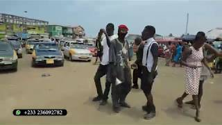 ONE CORNER PEOPLE IN ACCRA WERE SURPRISED TO SEE BABA SPIRIT AND QUAPPIAH DANCING