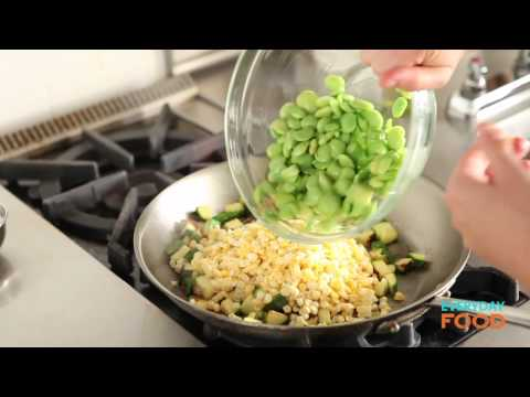 Chicken Succotash with Avocado and Farmer Cheese | Everyday Food with Sarah Carey