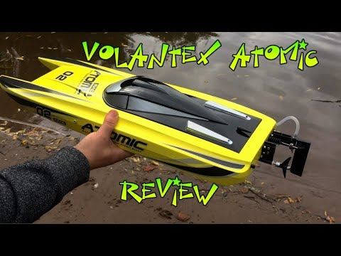 Volantex Atomic RC Speed Boat REVIEW