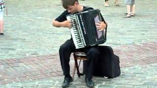 Busking In Warsaw Video