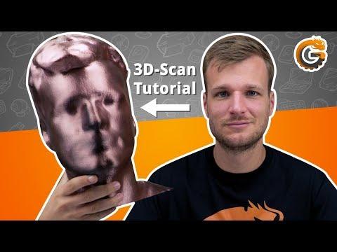 3D-Scan Tutorial: Mit Skanect 3D-Druck Figur von sich selbst machen / DEUTSCH   China-Gadgets