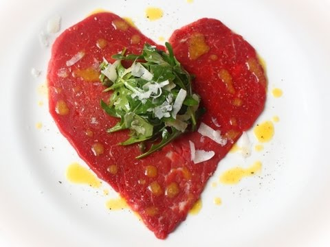 Valentine's Carpaccio – Meat Heart for Your Sweetheart