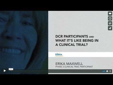 iSupportResearch: Erika Maxwell, Phase 3 Clinical Research Participant