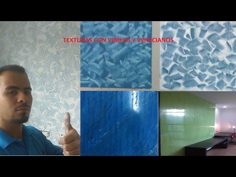 Como pintar paredes con TEXTURA o EFECTOS, Espatulado  (TUTORIAL)  S3R