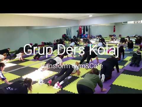 Antalya ''Transform Gym & Cafe'' Spor Salonu Ve Fitness Merkezi -----Kilo Verme --Ve ---Sıklaşma Grub Dersi