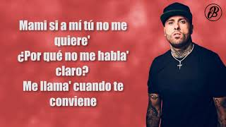 Te Robaré   Nicky Jam X Ozuna (LETRA)