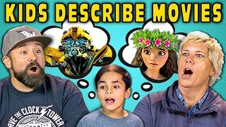 CAN PARENTS GUESS MOVIES DESCRIBED BY KIDS? (React) - dooclip.me