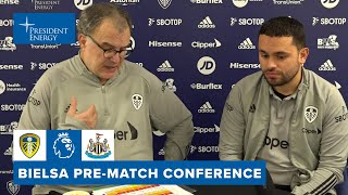 On form and naming starting 11 | Marcelo Bielsa | Leeds United v Newcastle United press conference