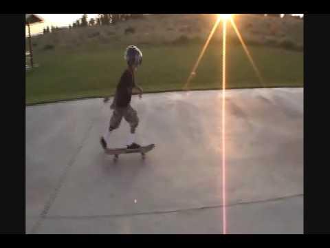 Boardman skatepark skateboarding with my son
