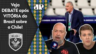 """""""O Tite é limitadíssimo, e o Brasil tem um time fraco"""": Veja debate após 1 a 0 no Chile"""