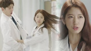 Yoon Kyun Sang, cute reaction at Park Shin Hye's action 《The Doctors》 닥터스 EP07