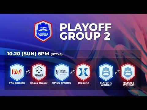 2019 CRL 亞洲賽區 S2 - 季後賽第2天