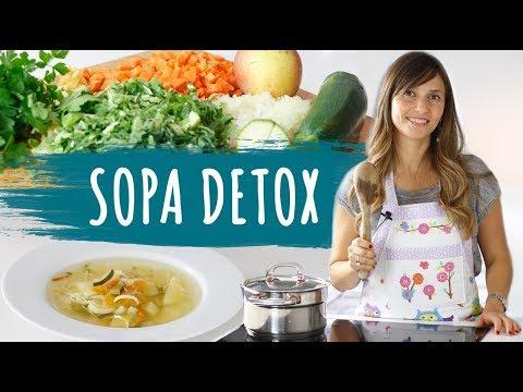 Imagem ilustrativa do vídeo: Sopa para bajar de peso- DETOX