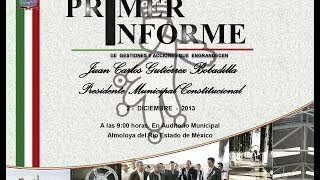 preview picture of video 'Primer Informe de Gobierno 2013'