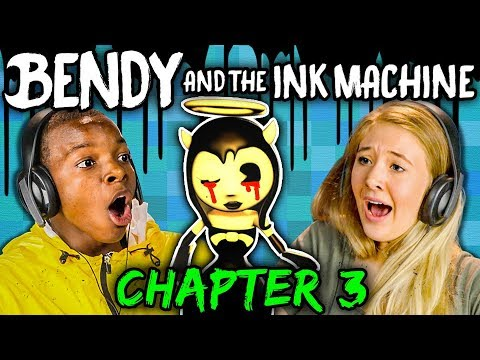 DISNEY NIGHTMARE! | Bendy and the Ink Machine: Chapter 3 (Teens React: Gaming)