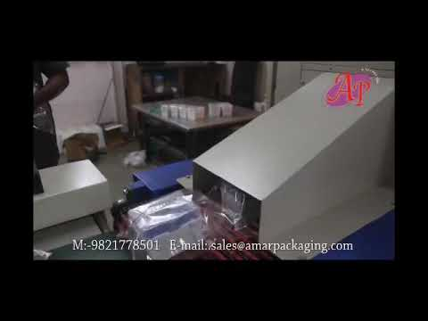 Fully Automatic Continuous Motion Wrapping & Sealing Machine