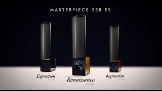 YouTube Video SwhB8RAwrfg for Product MartinLogan Masterpiece Series Electrostatic Loudspeakers (Renaissance ESL 15A, Expression ESL 13A, & Impression ESL 11A) by Company MartinLogan in Industry Loudspeakers