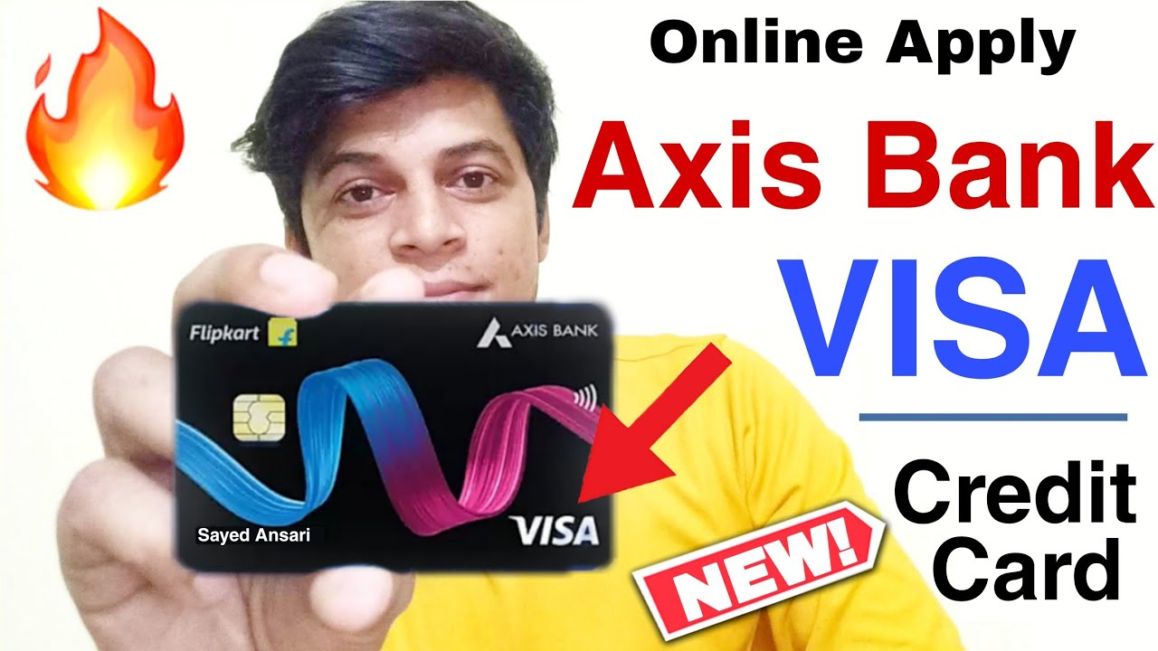 How to Online Apply New Flipkart Axis Bank VISA Charge Card – Life Time Free Axis Bank Credit Card