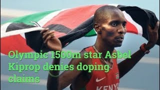Olympic 1500m star Asbel Kiprop denies doping claims