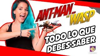 TODO LO QUE DEBES SABER DE ANT-MAN AND THE WASP