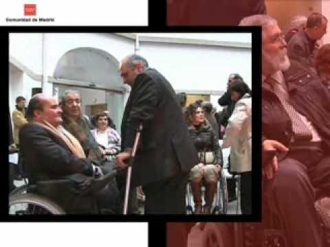 Esperanza Aguirre presenta la nueva tarjeta identificativa de la discapacidad