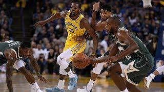 Bucks Dominate Warriors! Bledsoe 26 Pts Giannis 24! 2018-19 NBA Season