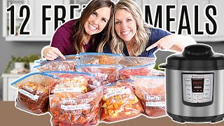 12 Simple FREEZER MEALS For Instant Pot Or Slow Cooker