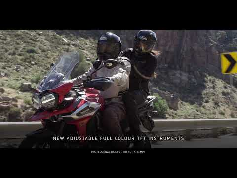 2018 Triumph Tiger 1200 XRx Low in Simi Valley, California - Video 1