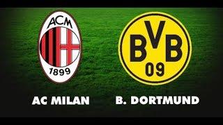 Товарищеский матч Милан – Боруссия Дортмунд