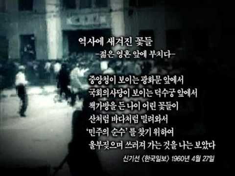4.19혁명 - 젊은영혼들의 증언