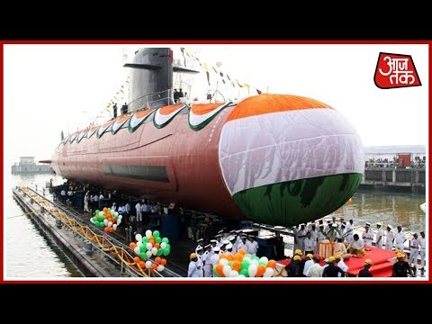 PM Modi Dedicates Scorpene-Class Submarine INS Kalvari To India