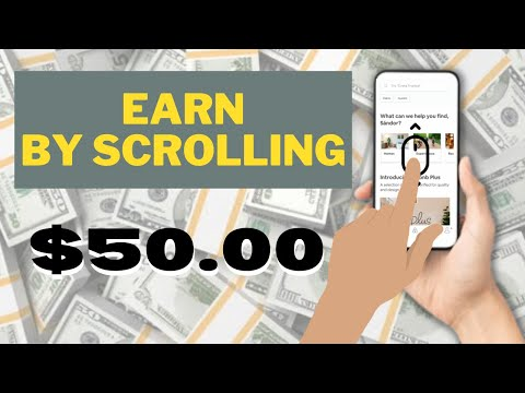 Make $50.00 By Scrolling A Page Again & Again (Make Money Online)
