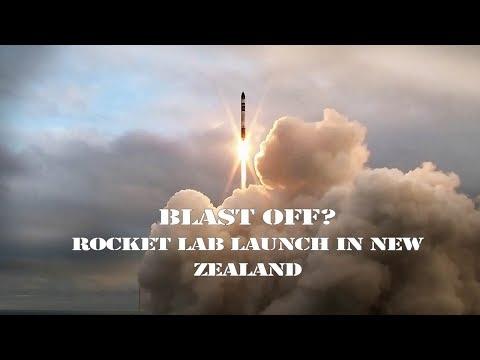 Live: Blast off? Rocket Lab launch in New Zealand美国航天火箭初创企业Rocket Lab发射小型实验火箭