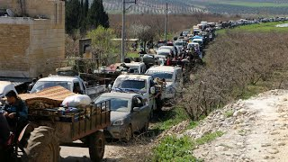 Turkish offensive in Syria: Hundreds of civilians flee as Ankara forces advance on Afrin city
