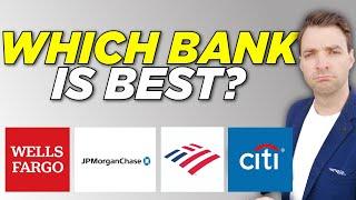 JP Morgan, Wells Fargo, Citi, Bank of America Stock Analysis. Which Bank is BEST?