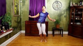 Belly Dance for Cramp Relief 6 Moves