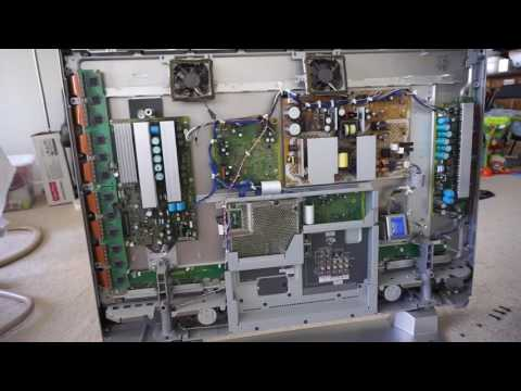 Plasma TV Repair - Seven blinking lights - Panasonic Viera TH-42PX60U