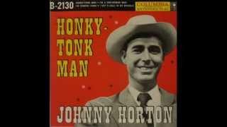 Johnny Horton   Honky tonk man   1956   YouTube