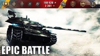 Грамотный бой на STB-1 🌟 wot как играть на японском СТ 🌟 World of Tanks лучший бой 9800+ dmg