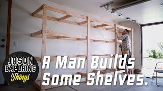 Garage Storage Shelves | EASY BUILD