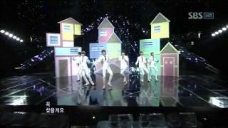 Boyfriend -I'll be there (보이프렌드 - 내가 갈게)  @SBS Inkigayo 인기가요 20111211