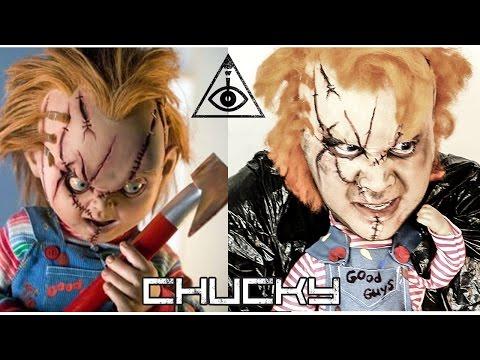 """Tutorial Chucky """"El muñeco diabólico"""""""